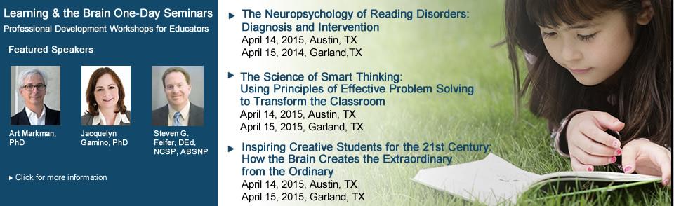 Spring 2015 - Texas Seminars