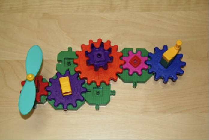 Mechanical Toy used in Legare and Lombrozo's (2014) study